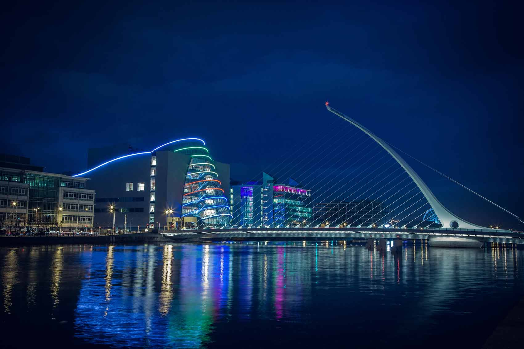 <span>Architecture</span>Dublin City at Night
